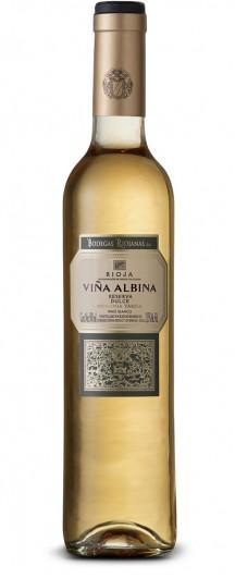 VIÑA ALBINA BLANCO RESERVA DULCE 50 CL